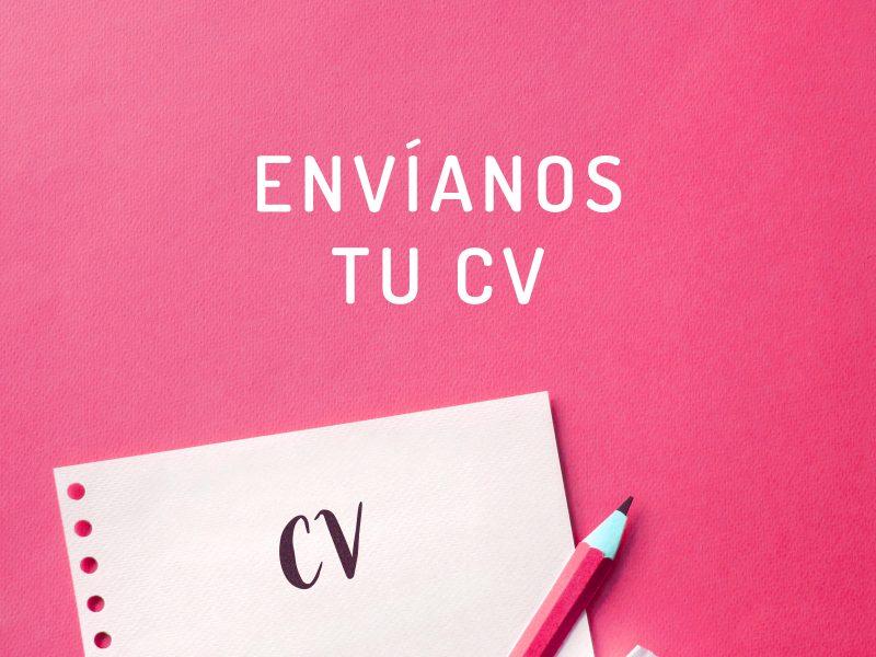 Envíanos tu CV